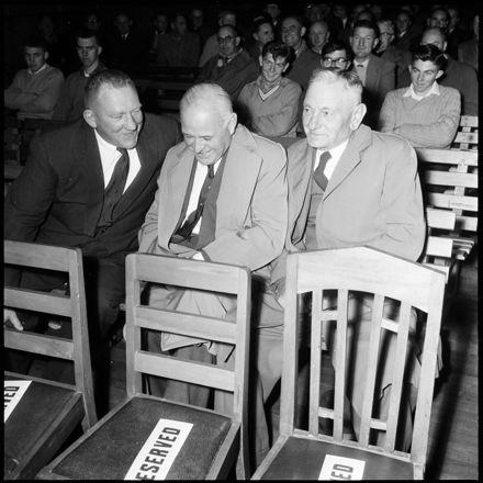 """Diehard Rugby Men Share Joke"""