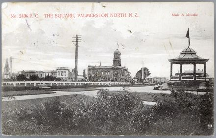 Postcard of The Square