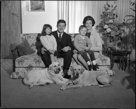 Trevor de Cleene and Family