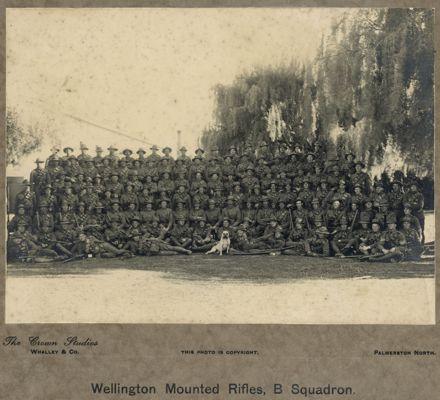 Wellington Mounted Rifles, B Squadron