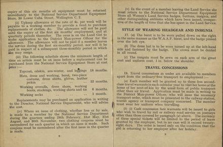 New Zealand Women's Land Service Handbook of Information 5
