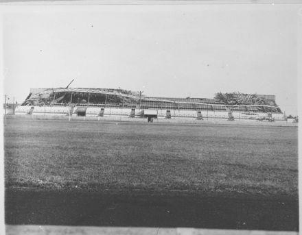 Damaged Main Stand, Showgrounds