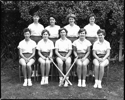 Softball or Baseball Team, Palmerston North Teachers' College