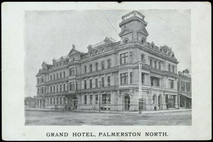 Grand Hotel, Palmerston North 1
