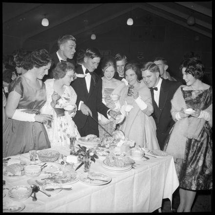 """""""Buffet Dinner Popular Before Ball"""""""
