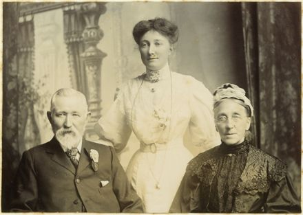 Thomas and Mary Parkins with Lucy