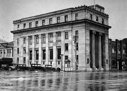 National Bank of New Zealand, corner of Cuba and Rangitikei Streets
