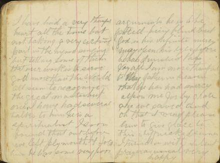 Shipboard diary p18