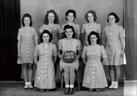 H.I.A. Ladies Netball Team