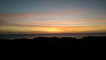 Foxton Beach Sunset