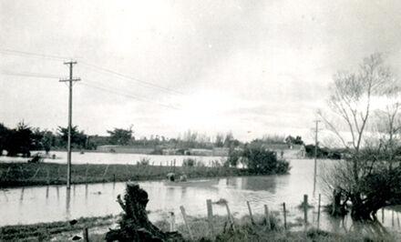 Flooding in Te Awe Awe Street