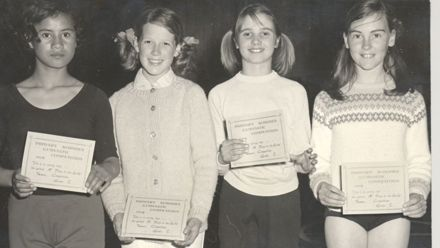 Primary Schools Gymnastic Competitions, 1st place girls team