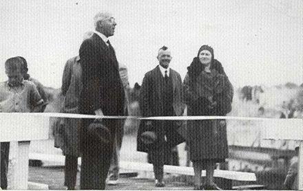 Opening first traffic bridge, Hokio Beach