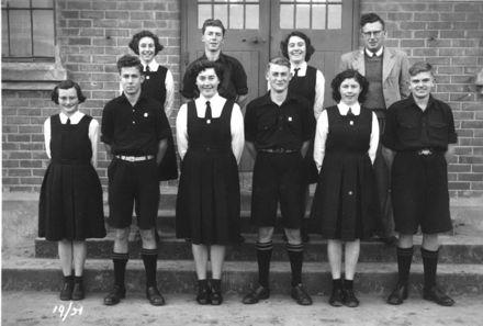 Foxton School Class 19 (?), 1951