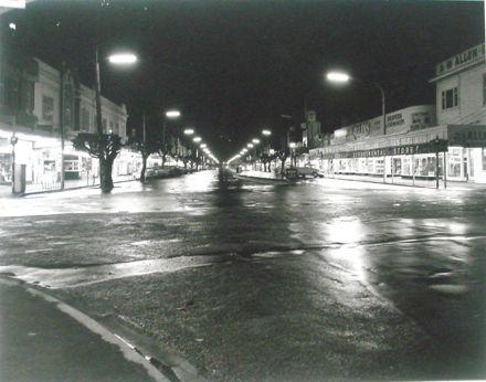 Oxford Street Levin at night