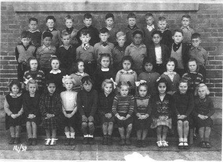 Foxton School Class 14 (?), 1951