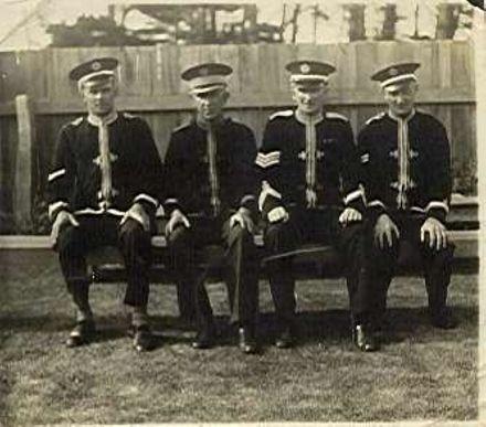 Foxton bandsmen