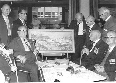 Disbanding Horowhenua Gallipoli Veterans Assn., 1972