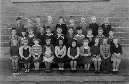 Foxton School Class 13 (?), 1951