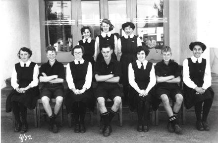 Foxton School, Secondary Class 4 (?), 1952