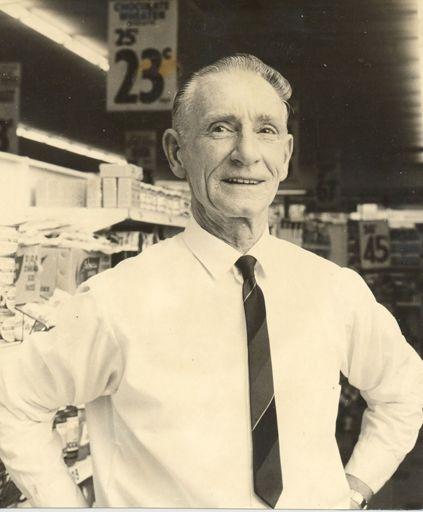Mr Clark, retiring manager, Woolworths, Levin, 1969