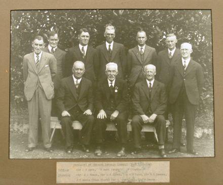 Shannon Borough Councillors, 1938 - 1941