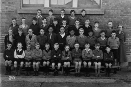 Foxton School Class 7 (?) 1951