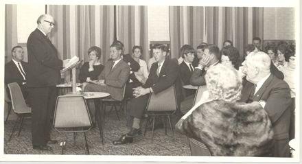 Speaker at Lions, Jaycee or Rotary Club ? function / meeting