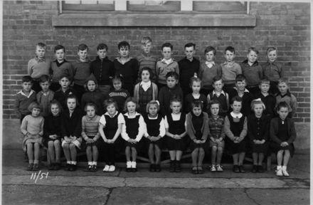 Foxton School Class 11 (?), 1951