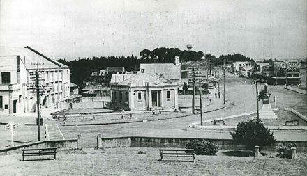 Main Street, Foxton 1940s