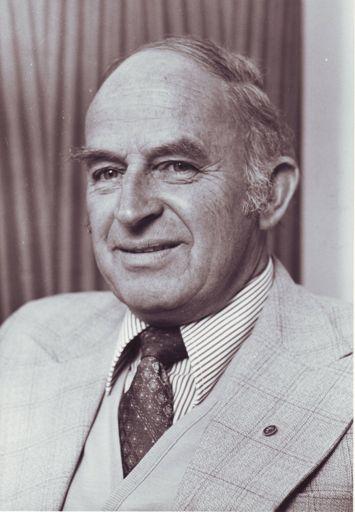 Mr D.A. Reid, Secretary / Manager, 1970 - 1986