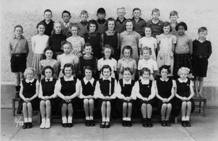Foxton School, Class 14 (?), 1952