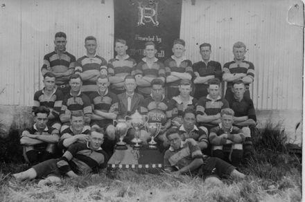Foxton Junior Rugby Team 1930