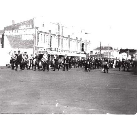Main Street parade, c.1920