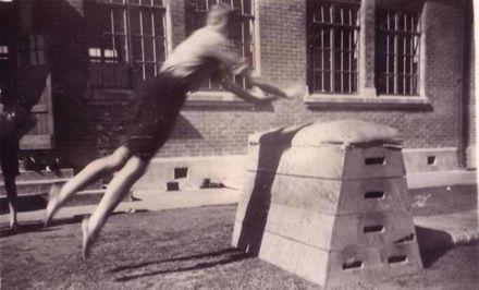 School Gymnastics, Foxton D.H.S., 1930's ?