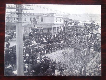 Commemoration of death of Edward VII, 1910