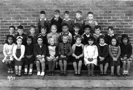 Foxton School Class 16 (?), 1951