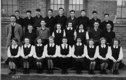 Foxton School Class 21 (?), 1951