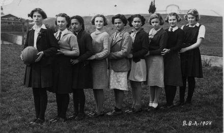 Foxton District high School Basketball Team 1938