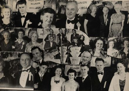 Foxton School Reunion 1954 Montage
