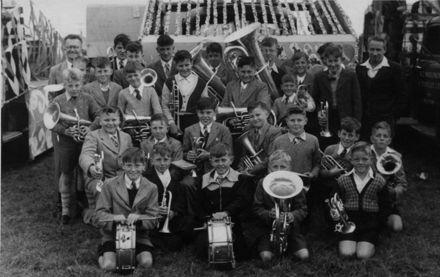 Foxton Junior Band, 1955