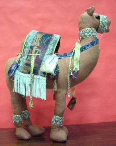 Sandy camel