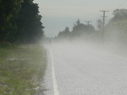 warm road