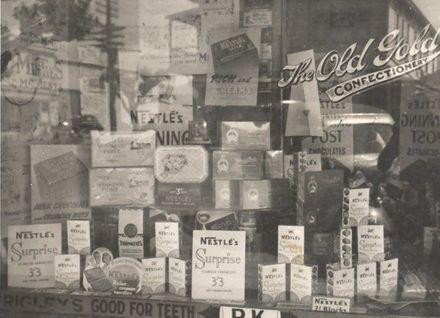 Regent Theatre sweet shop window