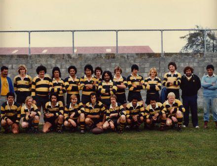 Foxton Rugby Team c.1980
