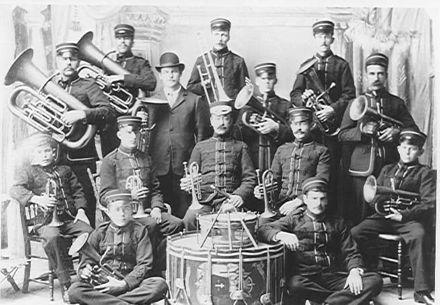Foxton Brass Band 1909