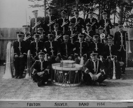 Foxton Silver Band, 1934