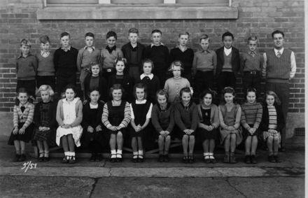 Foxton School, Class 5 (?), 1951
