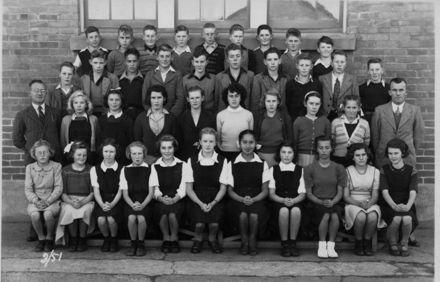 Foxton School, Class 3 (?), 1951
