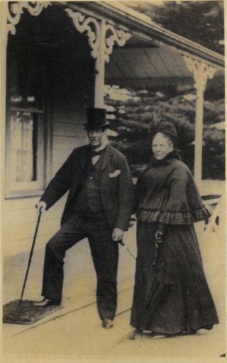 William Bertram White and Eliza Chitty White